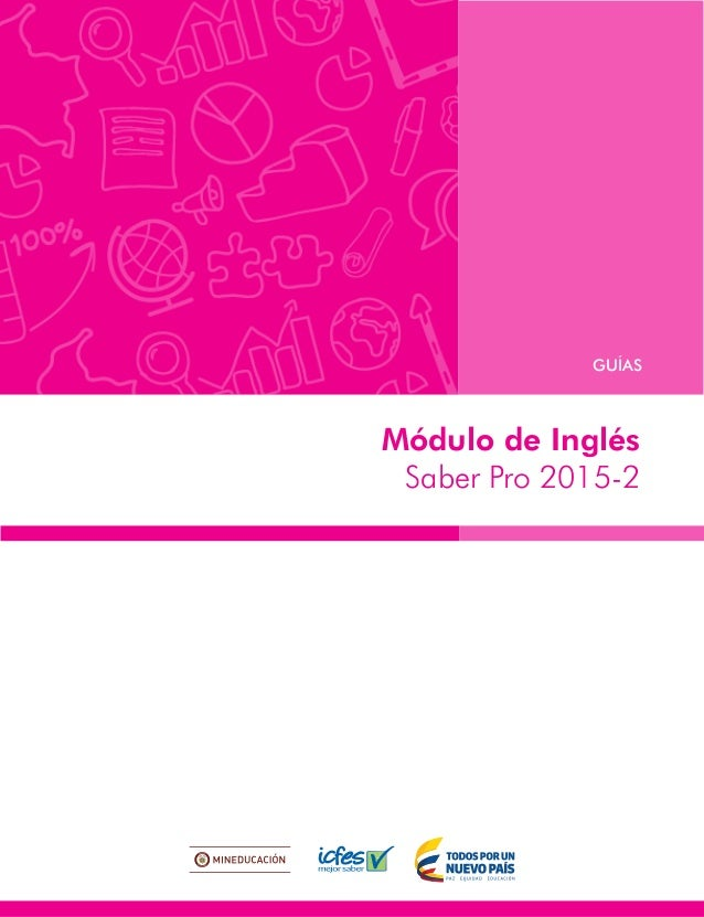 Módulo de Inglés Saber Pro 2015-2 GUÍAS