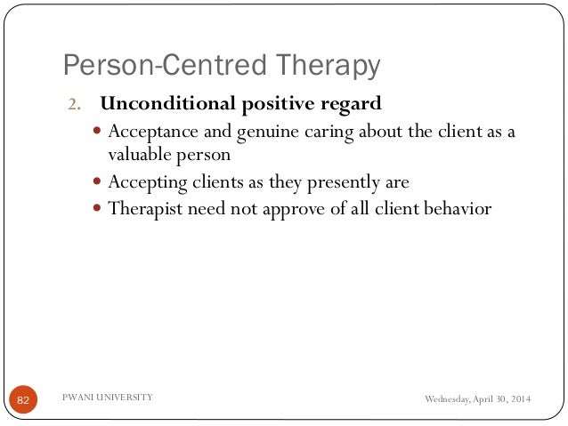 examples of unconditional positive regard Psychology chapter 13  which of the following terms most nearly captures the essence of unconditional positive regard  which of the following are examples of .