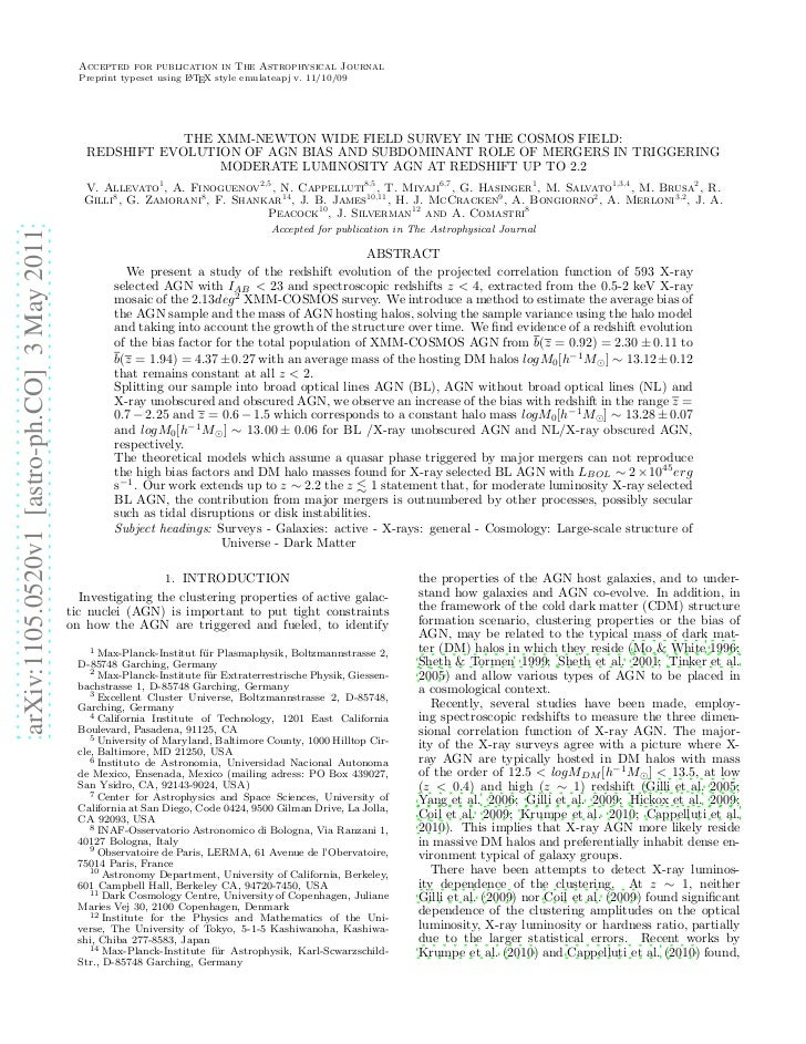 Accepted for publication in The Astrophysical Journal                                               Preprint typeset using...