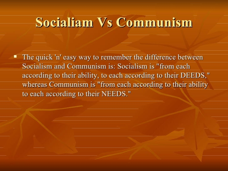 the basics of socialism and communism essay Communism was a dead end, but we can reclaim socialism  with the aid of  citizen planning and the provision of the basics necessary to live.