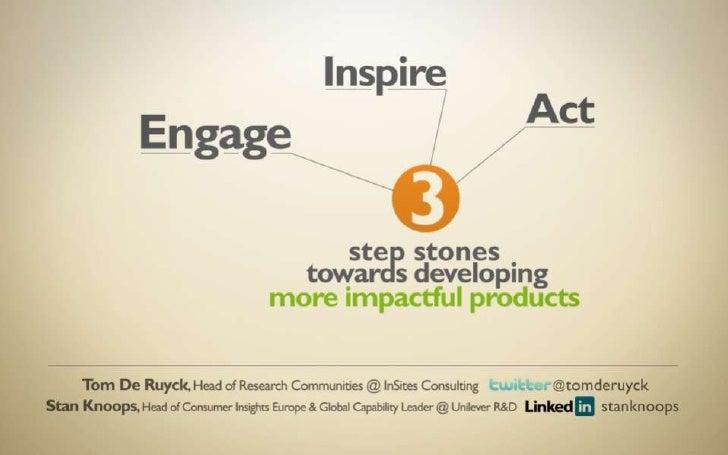 Engage, Inspire, Act - ESOMAR Congress 2011