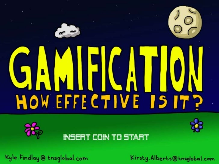 Gamification: How Effective Is It? Slide 1