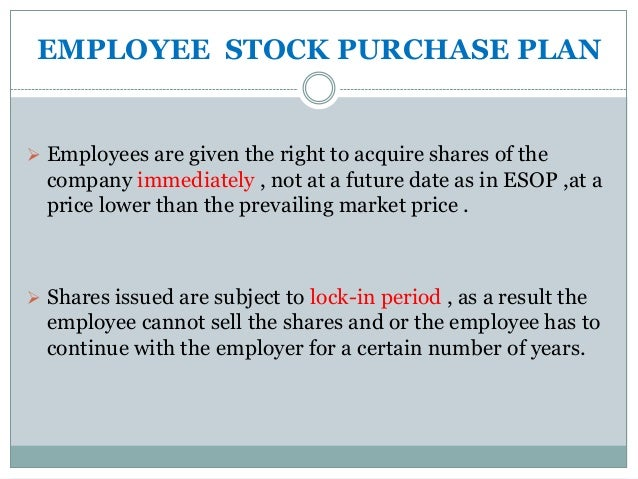 How to sell employee stock options