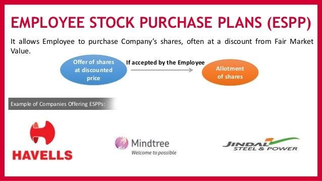 Employee stock options sars