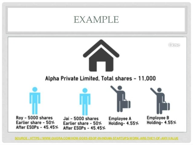 How do stock options work public company