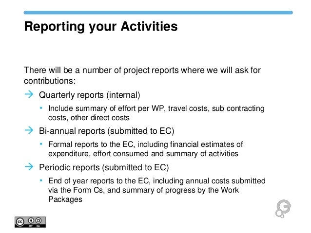 Europeana Sounds Project Governance Reporting and Administration – Project Quarterly Report Template