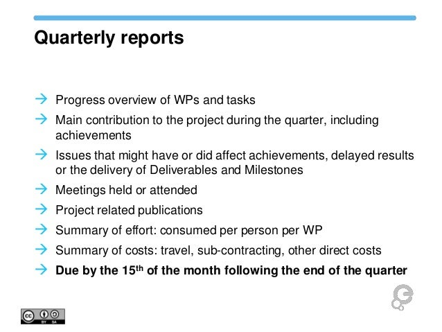 Perfect ... Project Quarterly Report Template Looking For Mis Report Format In ...