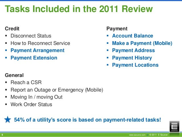 Results From The E Source 2011 Ivr Benchmark Review