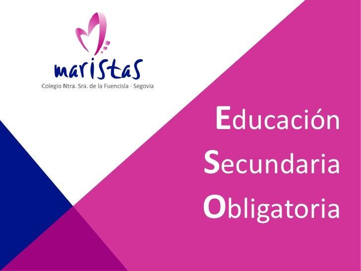 EducaciónSecundariaObligatoria
