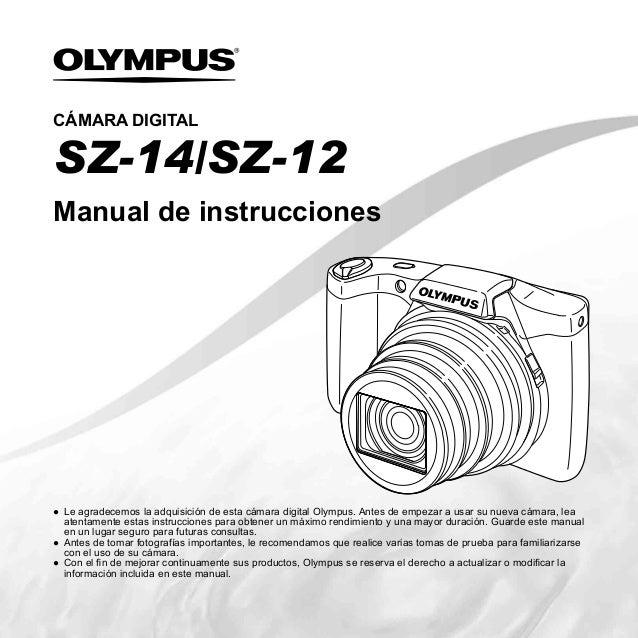 Manual de instruccionesCÁMARA DIGITAL● Le agradecemos la adquisición de esta cámara digital Olympus. Antes de empezar a us...
