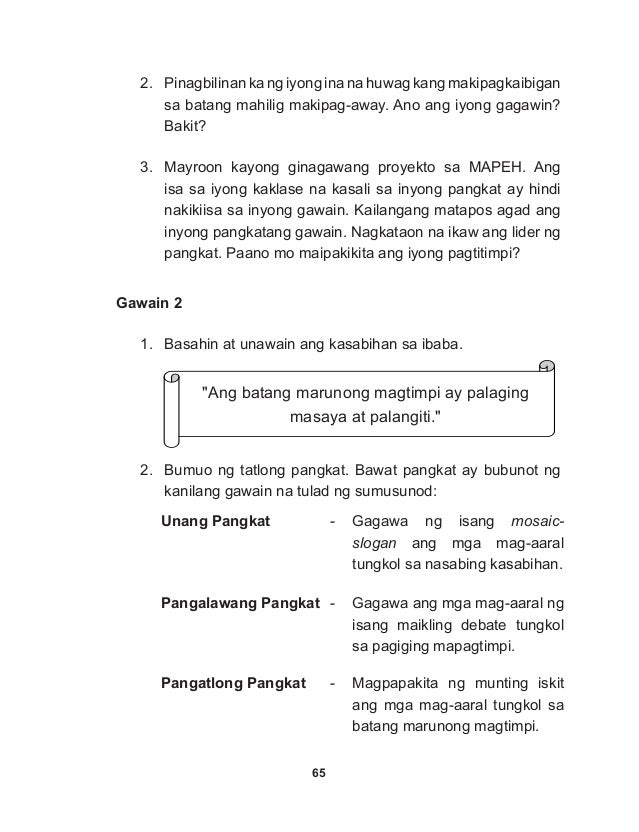 K TO 12 GRADE 4 LEARNER'S MATERIAL IN ESP (Q1-Q4)