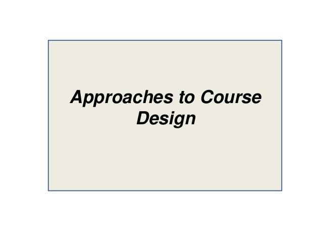 esp course design Purposes (esp) course design in combination with educational theories  esp  language course designed for university administrative staff.