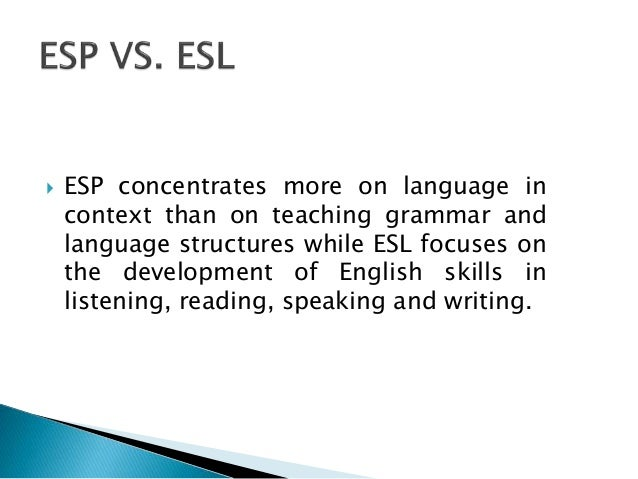 Esp english for specific phd dissertation
