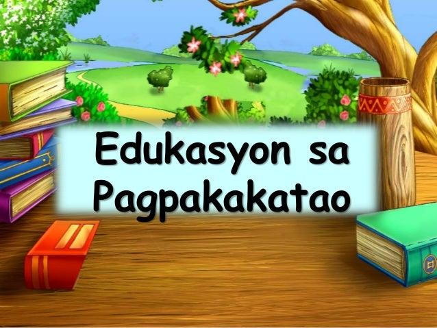 Edukasyon sa Pagpakakatao