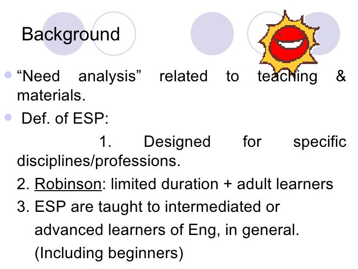 analysis of teaching material tesol Teaching english to speakers of other languages (tesol) (ma)  strategies for analysis and teaching grammatical forms and functions prerequisite(s): junior .