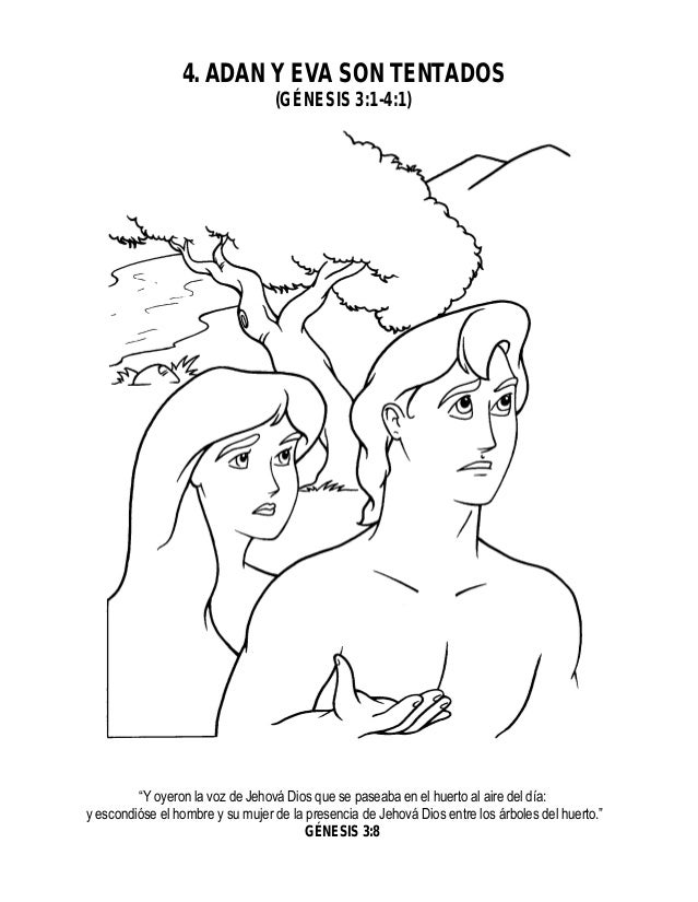 Historia de la Biblia 4. Adàn y Eva son Tentados