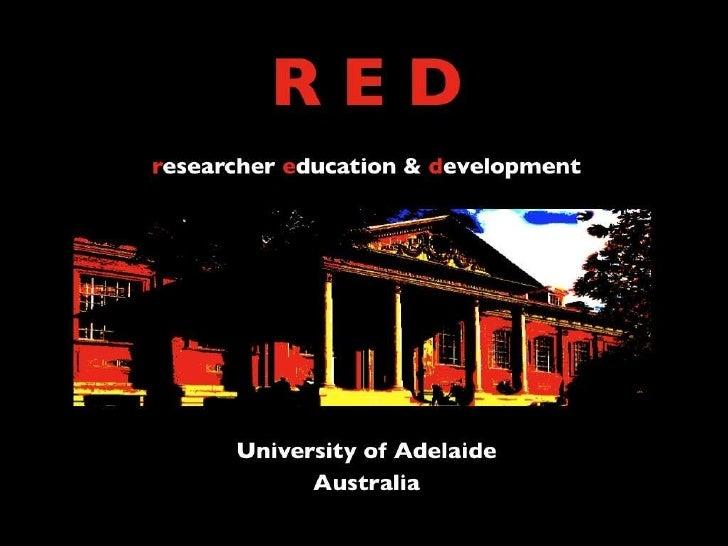 Researcher Education & Development Programs for Career Researchers