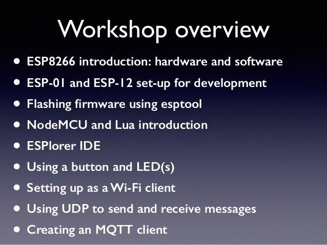 NodeMCU ESP8266 workshop 1 Slide 2