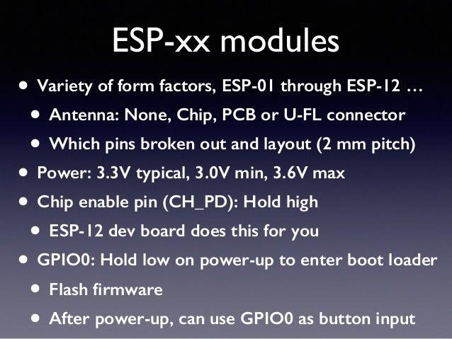 NodeMCU ESP8266 workshop 1
