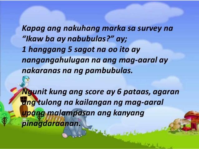 11. Kapag ikaw ay nasa isang laro, nais mo bang ikaw ang laging panalo?