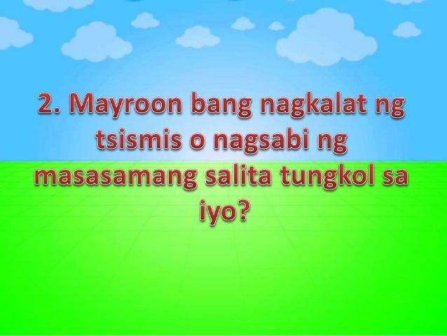 2. Gusto mo bang manukso o manghawak ng ibang tao?