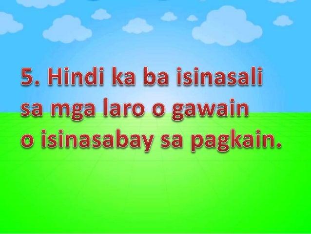 5. Gustong-gusto mo bang kumuha at sumira ng gawain ng iba?