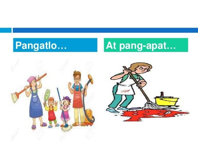 Pangatlo… At pang-apat…
