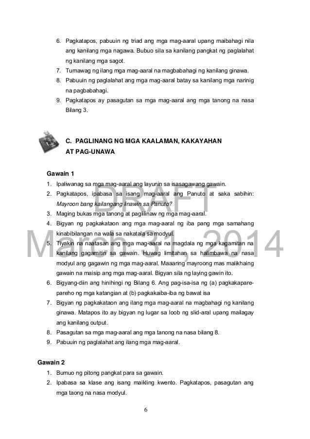 Ap Module Grade 9 2nd Quarter Teacheru0027s Guide - grade 9