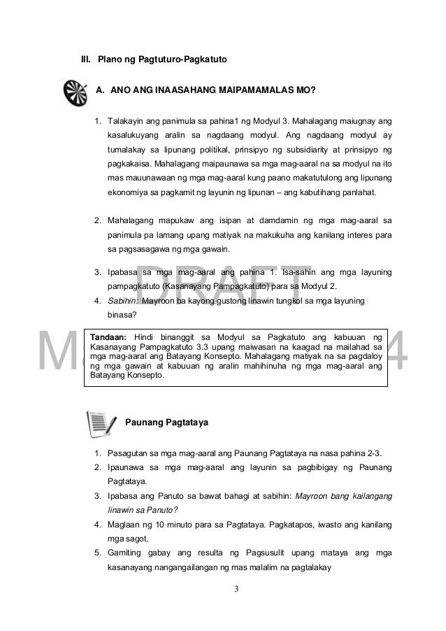 Edukasyon sa Pagpapakatao Grade 9 Teacher's Guide