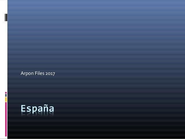 Arpon Files 2017