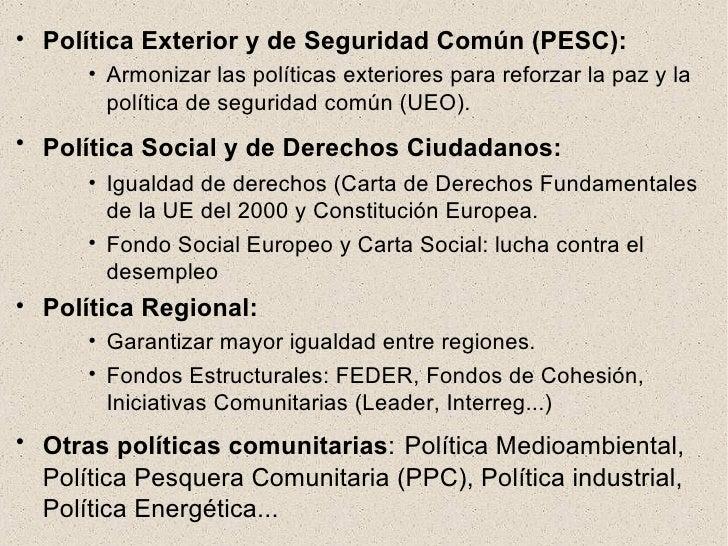 Espa a en europa for La politica exterior de espana