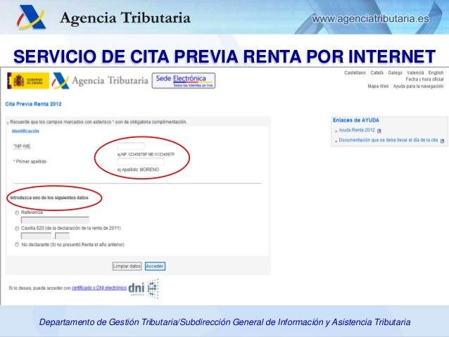 Presentaci n pa s espa a servicio de cita previa for Oficina nacional de gestion tributaria