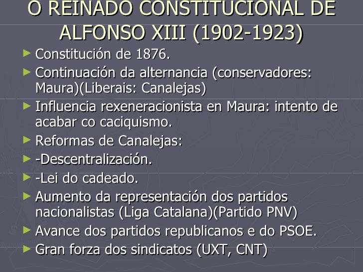 España e galicia de 1902 a 1939 Slide 3