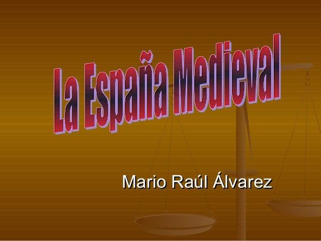 Mario Raúl ÁlvarezMario Raúl Álvarez