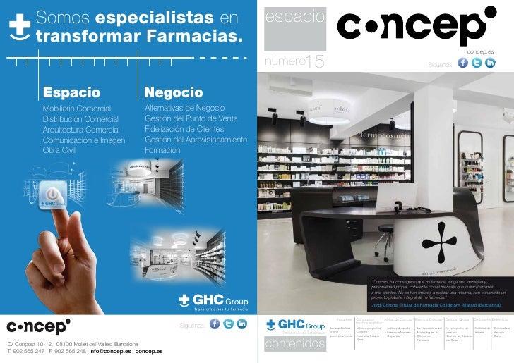 Somos especialistas en                                                   espacio          transformar Farmacias.          ...