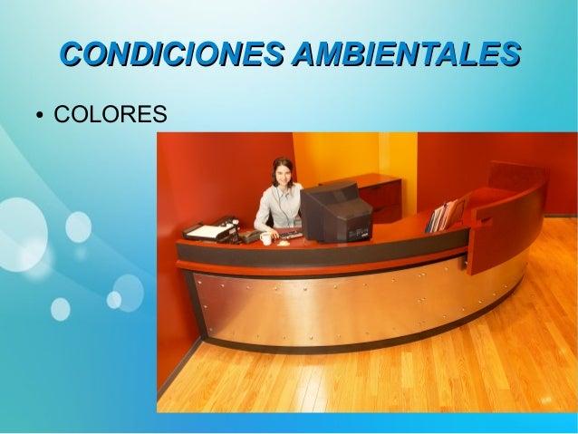 CCOONNDDIICCIIOONNEESS AAMMBBIIEENNTTAALLEESS  ● TEMPERATURA