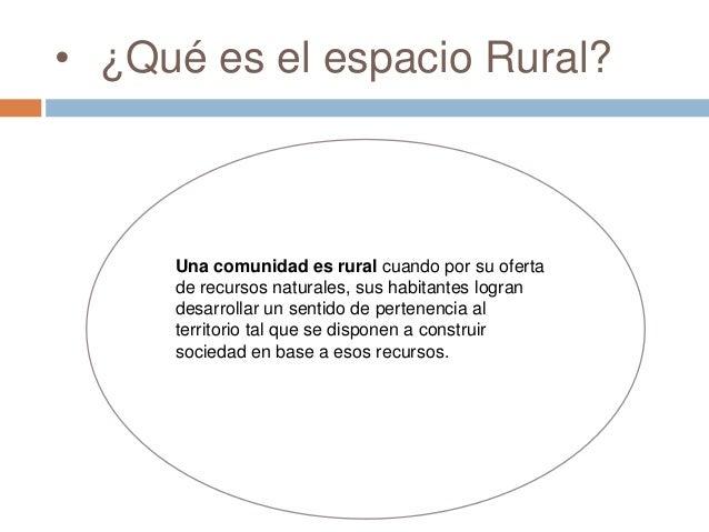 Espacio rural y espacio urbano for Que significa exterior