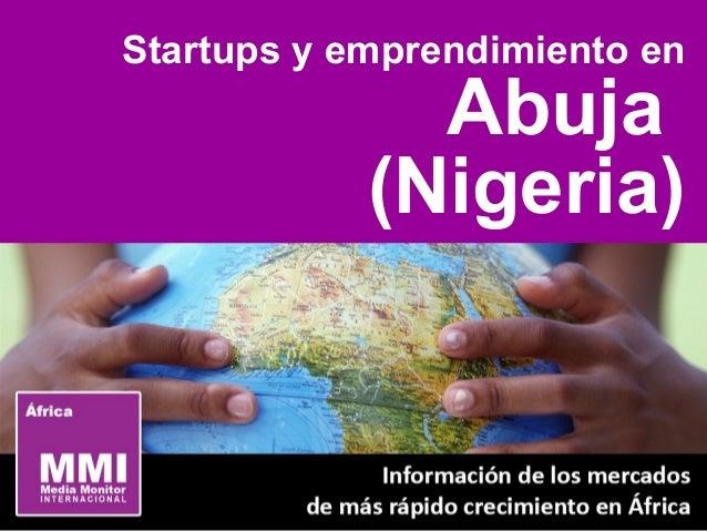 Startups y emprendimiento en Abuja (Nigeria)