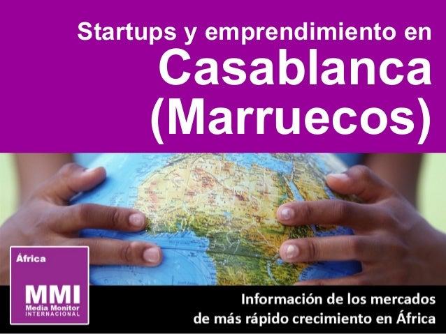 Startups y emprendimiento en Casablanca (Marruecos)