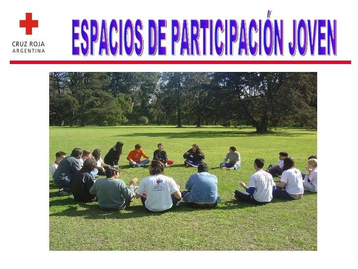 ESPACIOS DE PARTICIPACIÓN JOVEN
