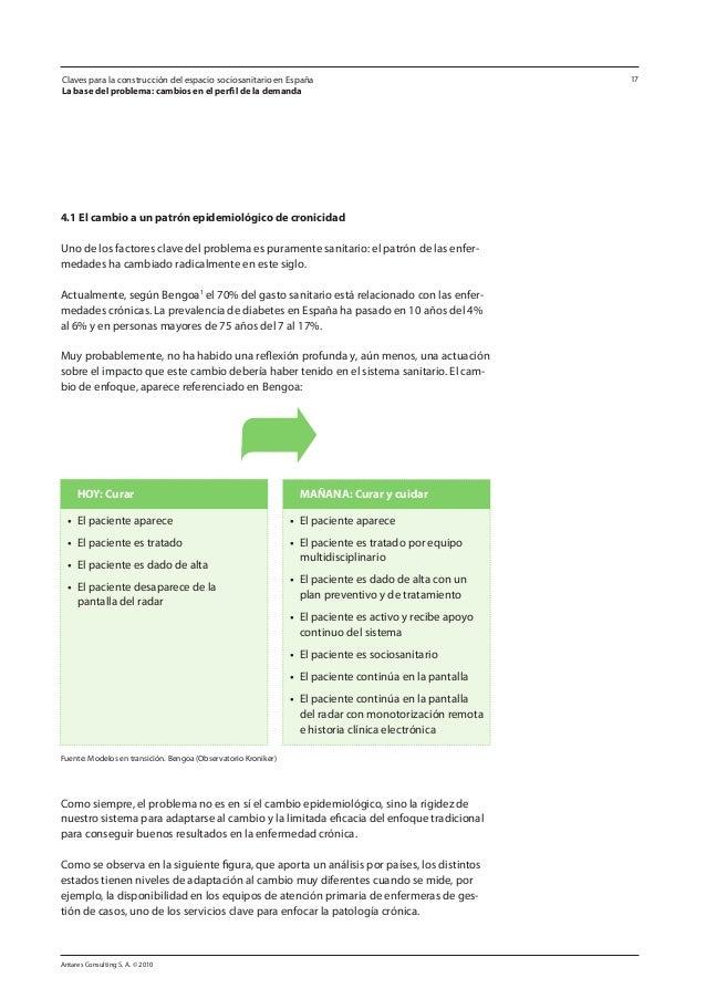 Antares Consulting S. A. © 2010 17 4.1 El cambio a un patrón epidemiológico de cronicidad Uno de los factores clave del pr...
