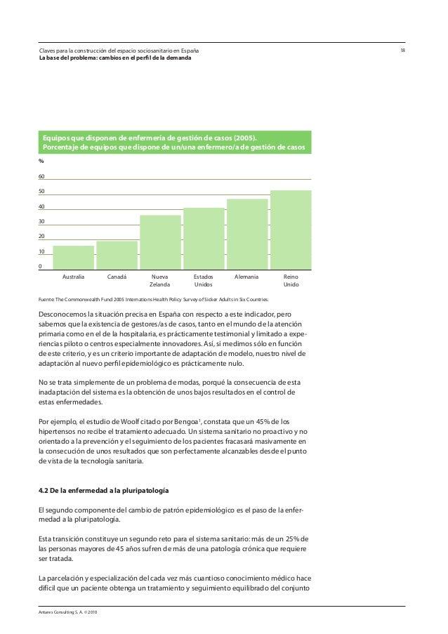 Antares Consulting S. A. © 2010 18 Desconocemos la situación precisa en España con respecto a este indicador, pero sabemos...