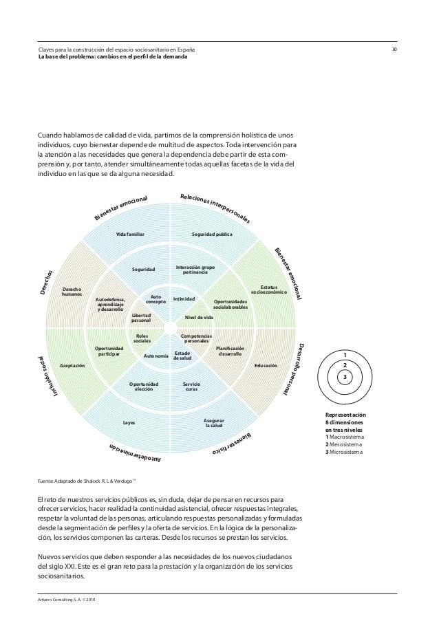 Antares Consulting S. A. © 2010 30 Cuando hablamos de calidad de vida, partimos de la comprensión holística de unos indivi...