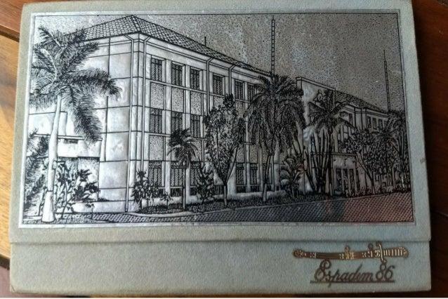 Espadim 1986 - Academia de Polícia Militar do Barro Branco (APMBB) - convite