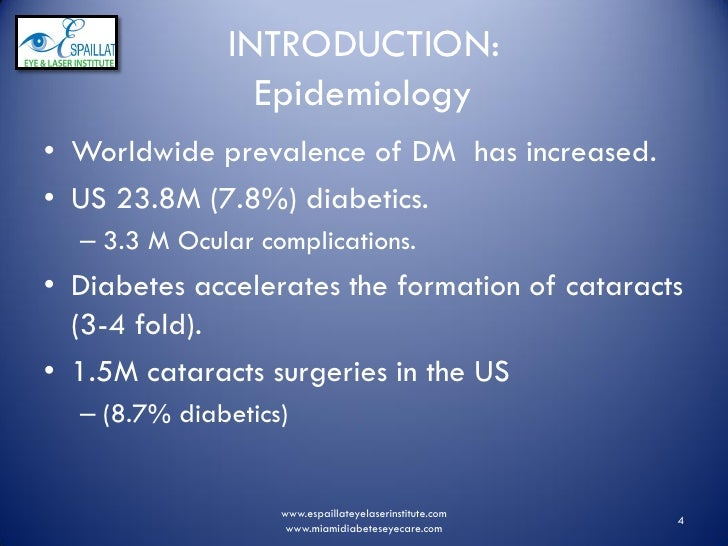 Espaillat Cataracts And Diabetes