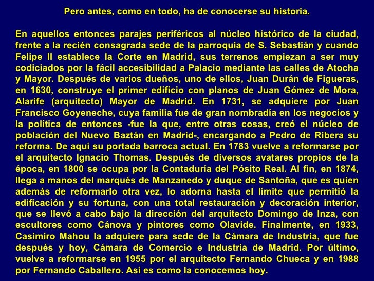 Espana Palacio Santona En Madrid Slide 3