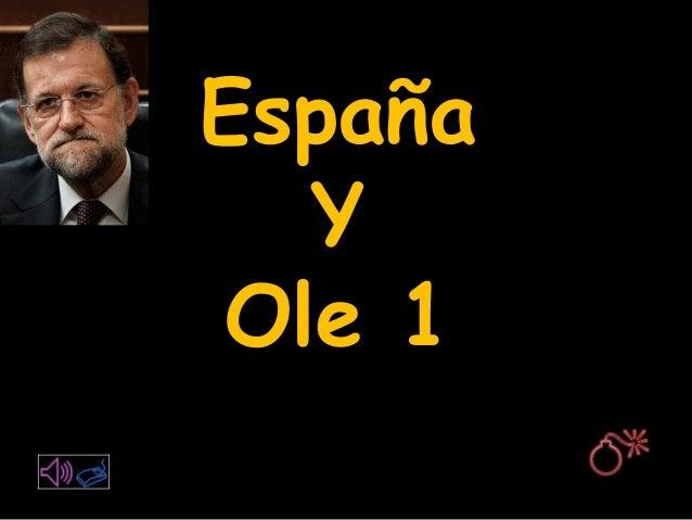 España Y Ole 1