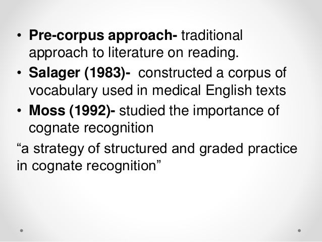 using lexical approach acquisition esp vocabulary spanish Acquisition of l2 vocabulary for effective reading: testing teachers' classroom approach students' acquisition spanish-speaking freshmen using vocabulary.