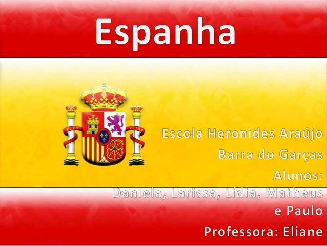  Cidades da Espanha(PRINCIPAIS):    Madri, Barcelona, Valência, Sevilha, Zaragoza e Bilbao , Málaga, Ov    iedo, Vigo, Gr...