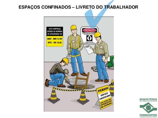 ESPAÇOS CONFINADOS – LIVRETO DO TRABALHADOR
